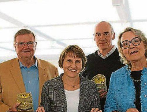Bürgerstiftung erhält 500€ Spende von Volksbank Baumberge