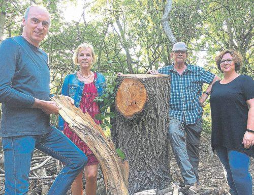Bürgerstiftung spendet für Weitblick-Wald